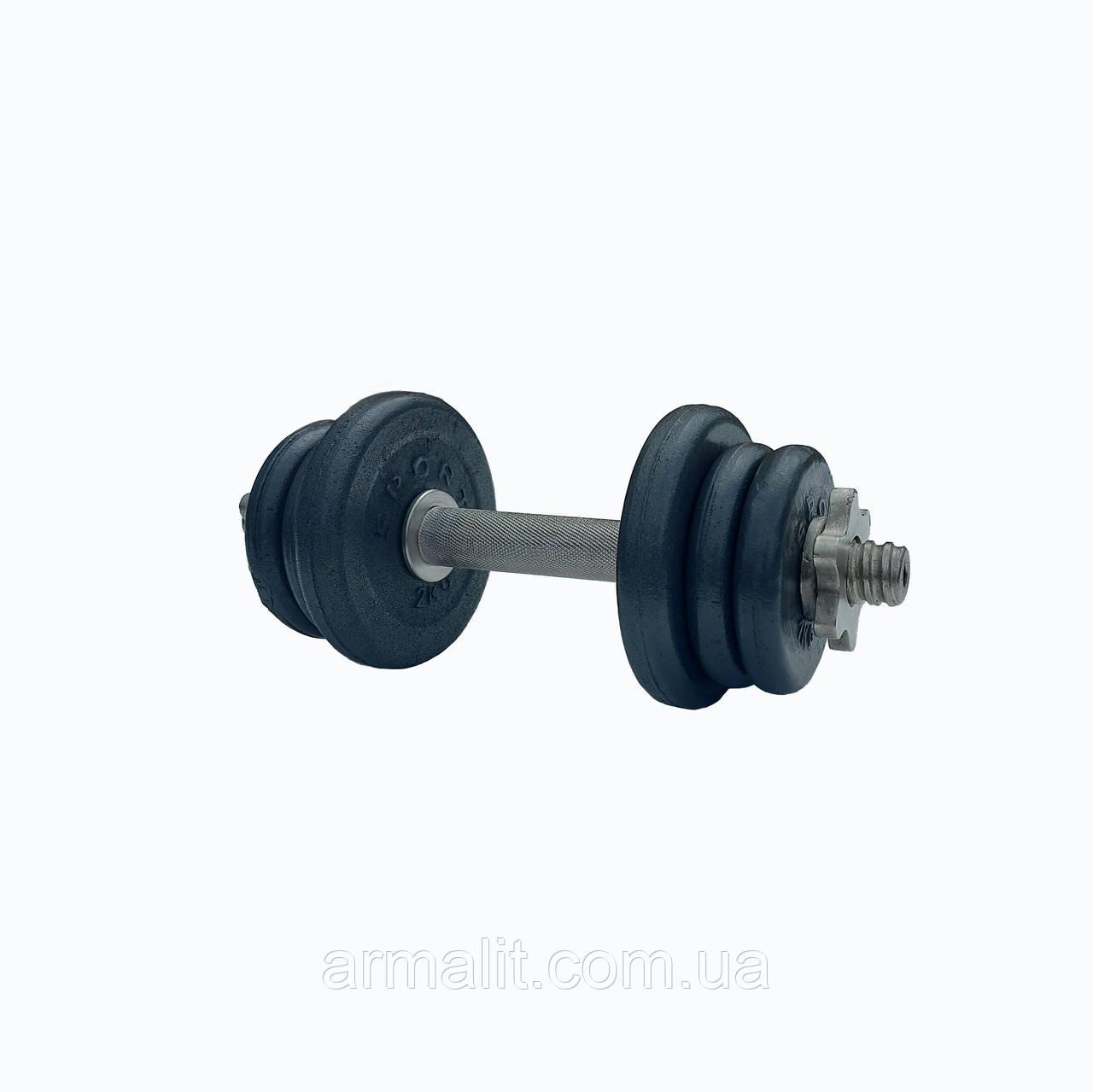 Гантель наборная АРМАЛІТ-2015 10 кг