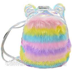 Дитячий рюкзак Stenson з хутром 18*8*23 см