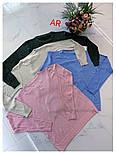 Жіночий светр, джемпер з камінням (в кольорах), фото 5