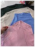 Жіночий светр, джемпер з камінням (в кольорах), фото 6
