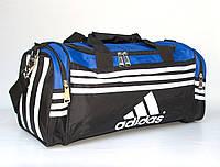 Дорожная молодежная сумка Adidas 45x22x20 см, фото 1