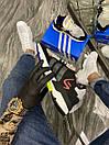 Adidas Nite Jogger Black Blue Yellow (Черный), фото 3