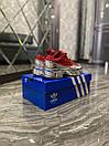Adidas Raf Simons Red Silver Metallic (Красный), фото 6
