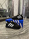Adidas Iniki Black White (Чорний), фото 5
