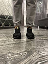 Adidas Iniki Black White (Чорний), фото 9