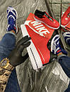 Nike Air Force 1 Low Red White (Красный), фото 3