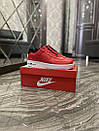 Nike Air Force 1 Low Red White (Красный), фото 4