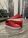 Nike Air Force 1 Low Red White (Красный), фото 5