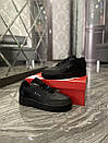 Nike Air Force 1 Type Black (Черный), фото 5