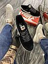 Nike Air Force Luxury Suede Black (Чёрный), фото 2