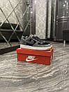 Nike Air Force Luxury Suede Grey Black (Серый) , фото 4
