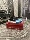 Puma Cali Black Blue White. (Чорний), фото 4