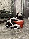 Nike Air Jordan Space 720 Black White (Білий), фото 5