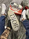 Nike Air Jordan 1 Retro x Dior (Серый), фото 4