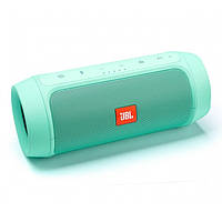Портативна bluetooth колонка спікер JBL Charge 2 FM, MP3, радіо Бірюзова