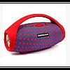 Портативная bluetooth колонка спикер Hopestar H32 Красная с треугольниками