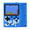 Игровая консоль приставка с дополнительным джойстиком dendy SEGA 168 игр 8 Bit SUP Game Синий