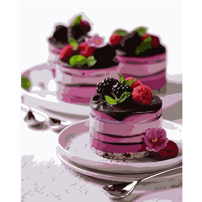 Картина по номерам Десерт для души  ТМ Идейка 40 х 50 см КНО5584