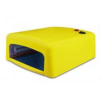 УФ лампа для наращивания ногтей на 36 Вт Жёлтая, фото 1