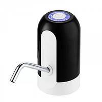 Електрична акумуляторна помпа для води Charging Pump C60 Чорна