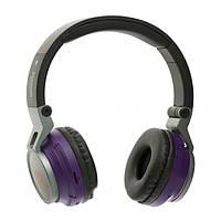 Bluetooth-навушники Wireless Headphones JBL Harman S400BT з FM MP3 microSD/TF фіолетові, фото 1