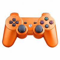 Безпровідний Джойстик Sony Геймпад для PS3 Sony PlayStation PS помаранчевий, фото 1