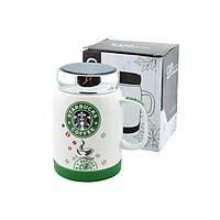 Чашка керамічна Starbucks SH 025-1 Зелена, фото 1