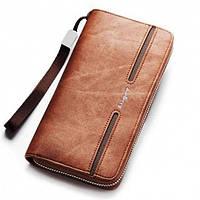 Клатч портмоне Baellerry S1512 Brown тканевый коричневый, фото 1