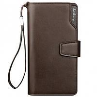 Мужской кошелек клатч портмоне барсетка Baellerry business S1063 Коричневый, фото 1