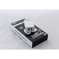 Сетевое зарядное устройство UKC Fast Charge AR 001 c 2 USB портами, фото 1
