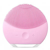 Електрична щітка для очищення обличчя Forever Lina Mini 2 Рожева, фото 1