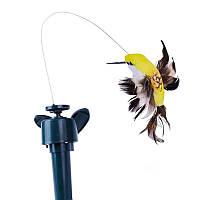 Птичка Колибри на Солнечной Батарее (или 1 ААА) Летает Кружится Птица 4 вида solar flying hummingbird 012590