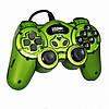 Ігровий маніпулятор TURBO USB GAMEPAD DJ-168 джойстик для ПК Зелений