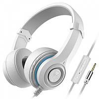 Навушники NUBWO N8 з вбудованим мікрофоном Білі, фото 1