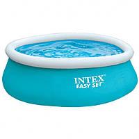 Бассейн наливной Intex 28101 голубой, 183*51см, Объем: 2420л при заполнении 80%, фото 1