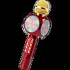 Бездротовий мікрофон караоке блютуз WSTER 1816 Bluetooth динамік USB Червоний