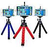 Гнучкий міні штатив тринога трипод для телефону і камери 25 см (восьминіг, павук)