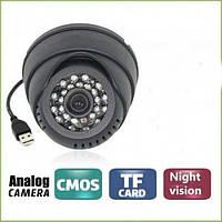 Камера відеоспостереження внутрішня кольорова Digital Camera 349 USB, фото 1