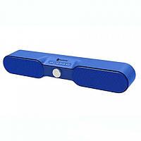 Портативная bluetooth колонка спикер NR-4017 Синий
