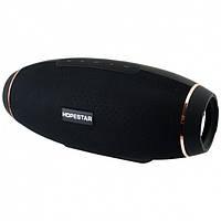 Портативная bluetooth колонка Hopestar H20 31Вт USB,FM с режимом POWERBANK Чёрная, фото 1