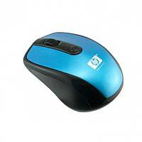 Беспроводная компьютерная мышка HP 2.4G мышь Синяя, фото 1