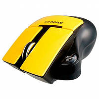 Бездротова оптична миша ZHANPENG ZP018 мишка Жовта, фото 1