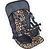 Автомобільне крісло для дітей Multi Function Car Cushion Жовте (леопардове)