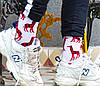 Носки Neseli Daily Жирафы красные 5836