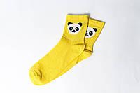 Носки Rock'n'socks Панда жёлтый, фото 1
