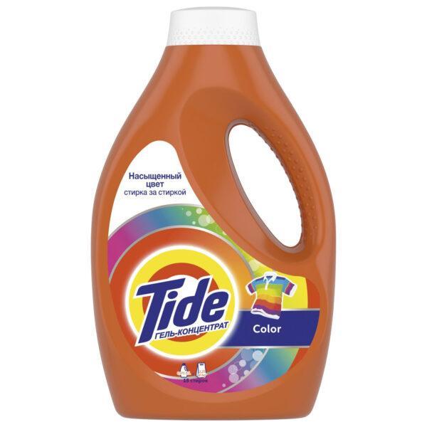 Жидкий стиральный порошок концентрат Tide тайд Color 1.045л = 2,85 кг