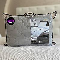 Одеяло летнее евро 200х220см ОДА | Одеяло евро хлопок | Ковдра літня, наповнювач бавовна | Стеганое одеяло ODA