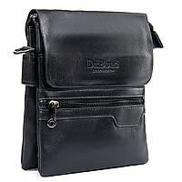 Мужская сумка черная через плечо стильная 18*22*5 см Dr. Bond  GL 303-2, фото 1