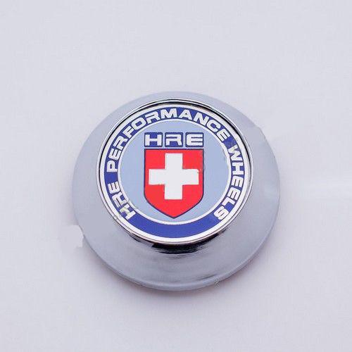 Ковпачок для диска HRE конус / хром (62-68 мм)