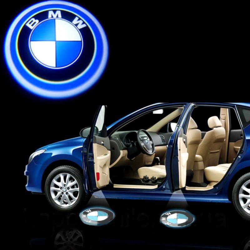 Дверной логотип LED LOGO 007 BMW , Светодиодная подсветка на двери с логотипом